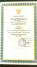 Reward Walikota Yogyakarta